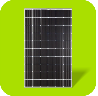 Natural Solar PV panel icon