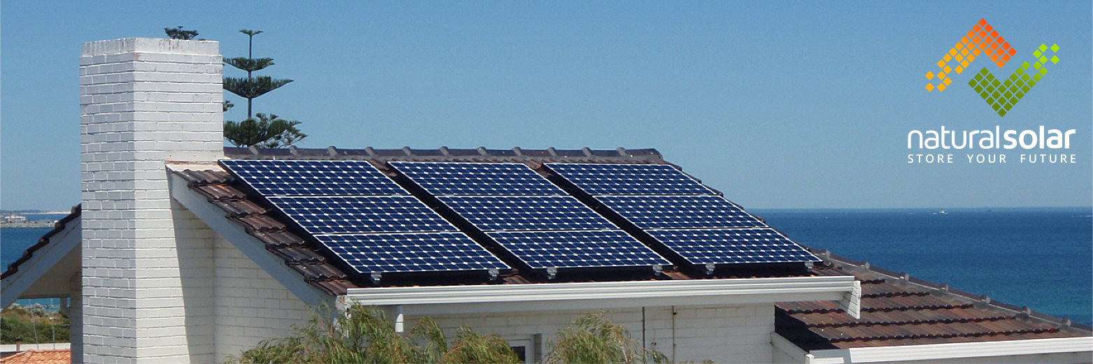 Sunpower solar panels installed on roof - Natural Solar