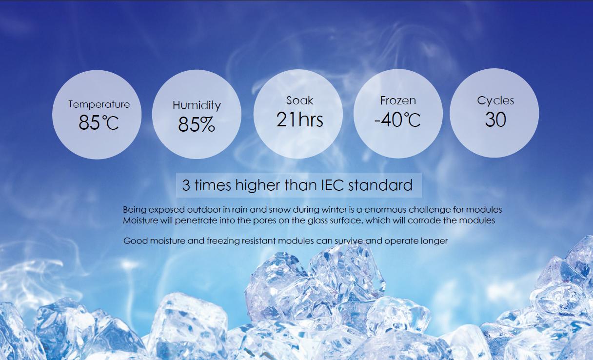 Humidity-Freeze-Test