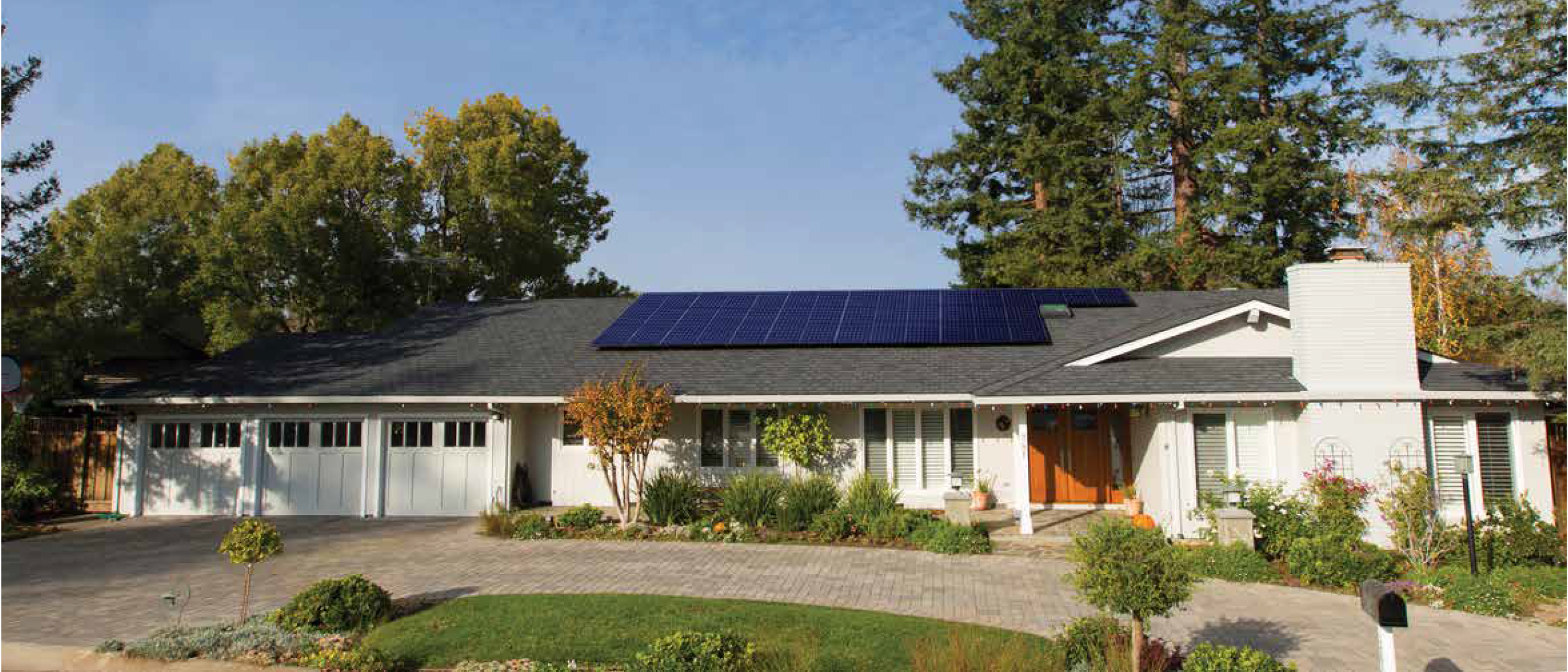 home-with-sunpower-solar-panels-on-it
