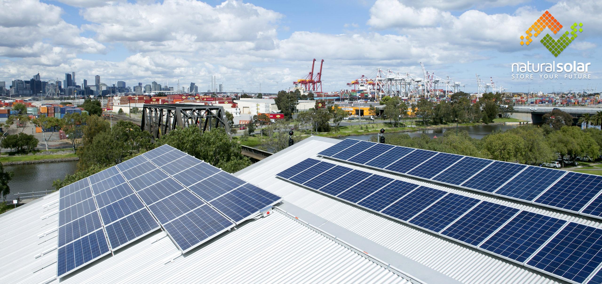 footscray community arts centre - commercial solar by Natural Solar