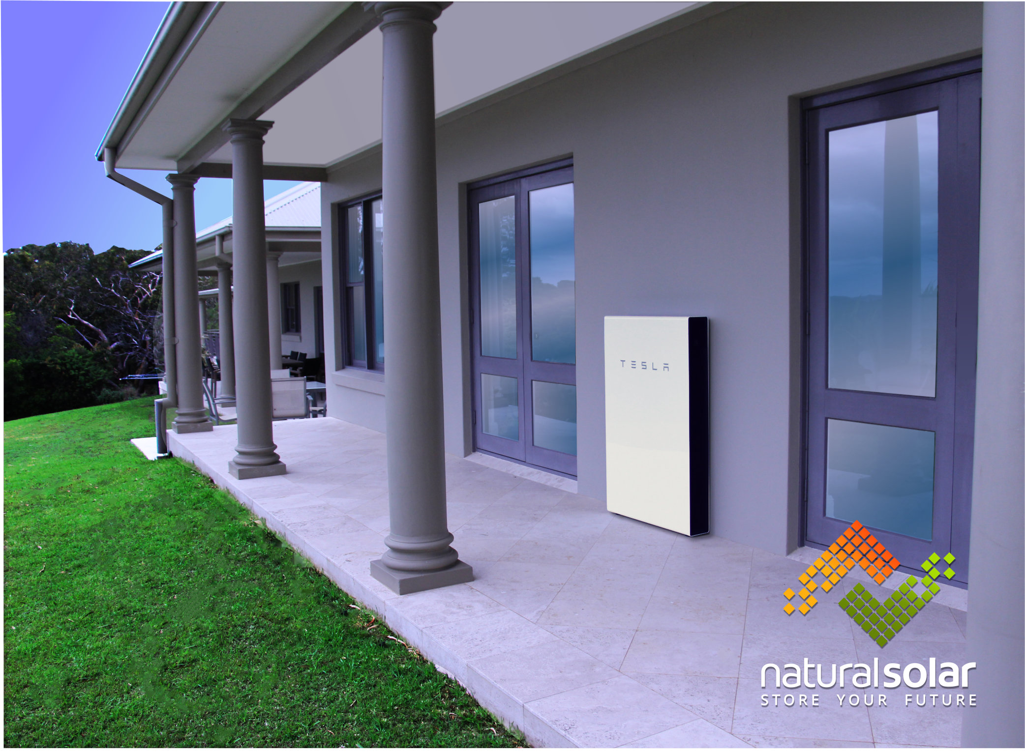 Tesla Powerwall Home Battery is an energy storage system for solar PV