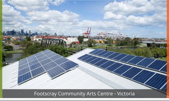 footscray community Arts Centre solar case study image - Natural Solar
