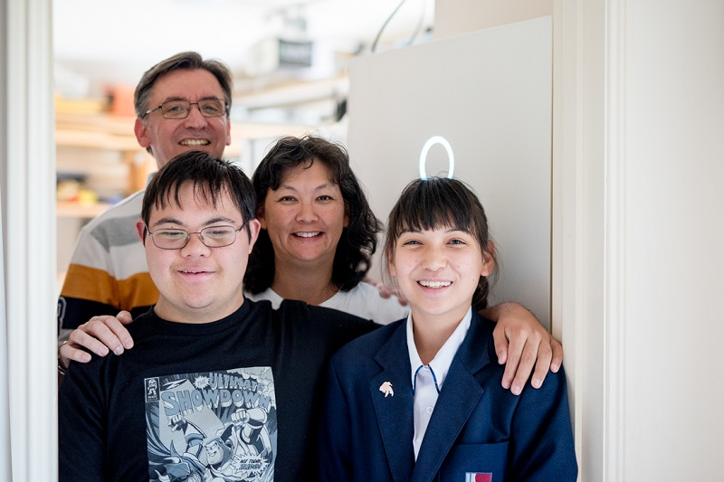 Family enjoying the benefits of sonnenFlat