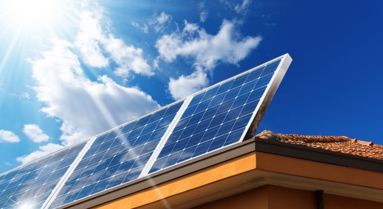 Solar panels property value