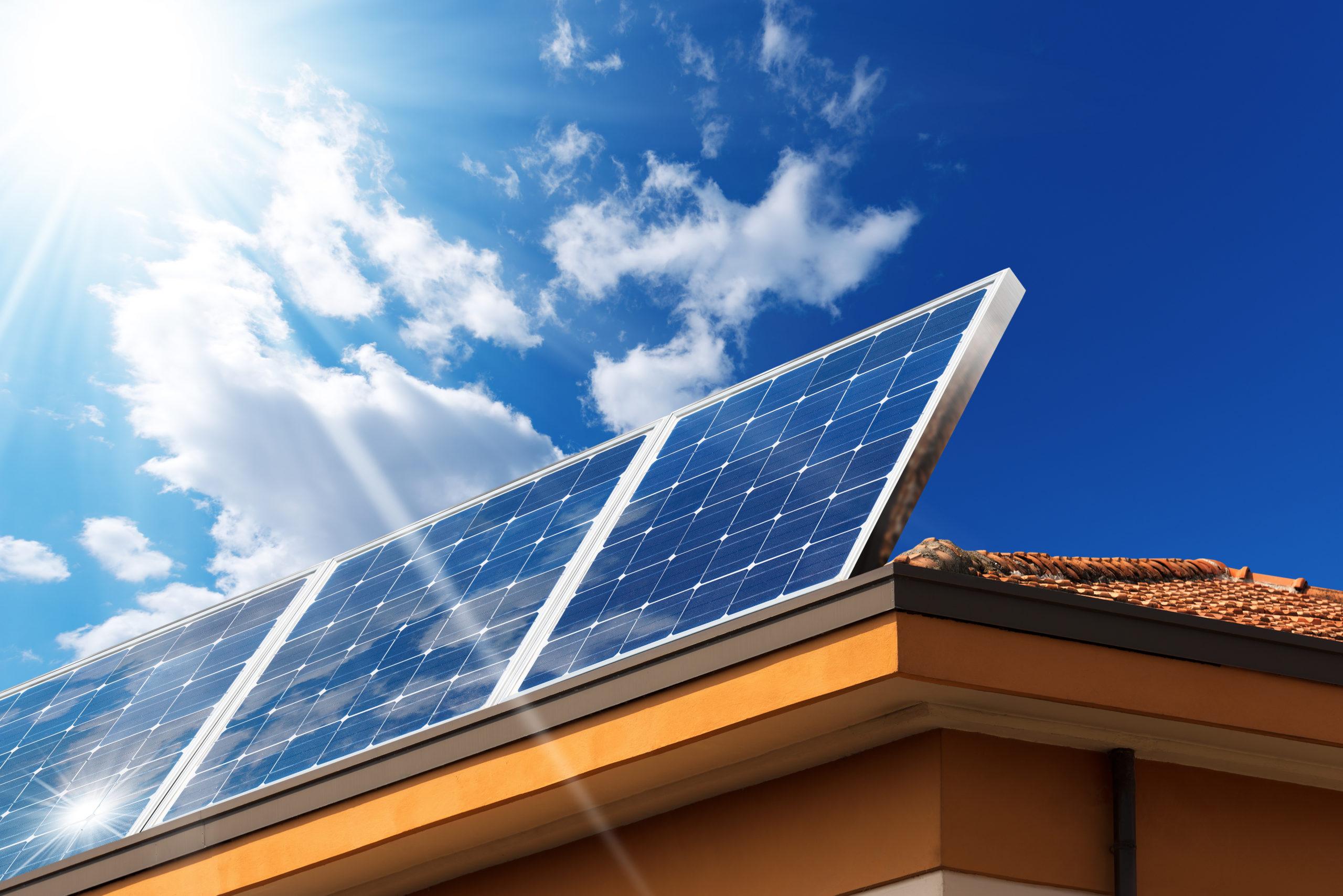 Solar panels property value